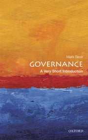 Governance: A Very Short Introduction ebook by Mark Bevir