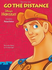 Go the Distance Sheet Music - From Disney's Hercules ebook by Alan Menken,David Zippel,Michael Bolton