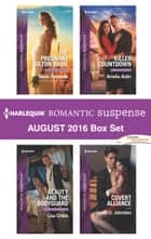 Harlequin Romantic Suspense August 2016 Box Set - The Pregnant Colton Bride\Beauty and the Bodyguard\Killer Countdown\Covert Alliance ebook by Marie Ferrarella, Lisa Childs, Amelia Autin,...