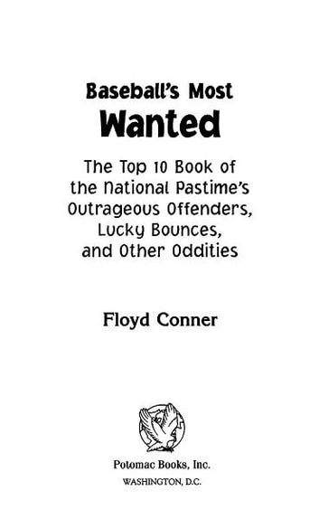 Baseball's Most Wanted™ ebook by Floyd Conner