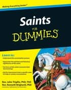 Saints For Dummies ebook door Rev. John Trigilio Jr.,Rev. Kenneth Brighenti
