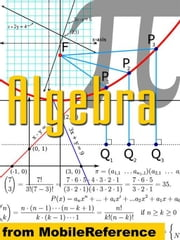 Algebra Study Guide (Mobi Study Guides) ebook by MobileReference
