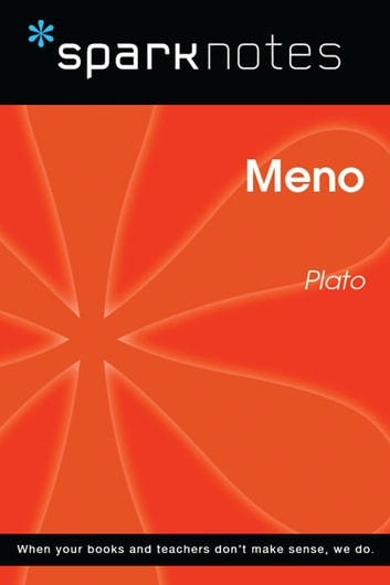 Meno (SparkNotes Philosophy Guide) ebook by SparkNotes