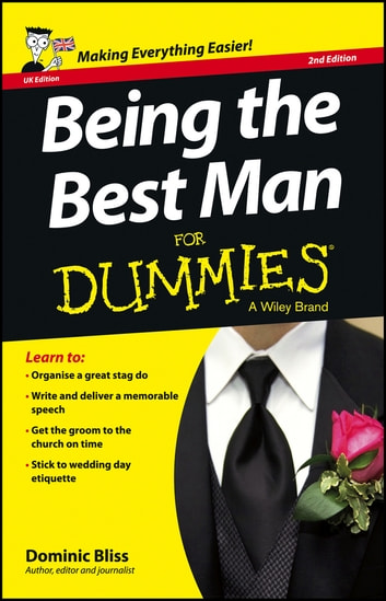 Being the Best Man For Dummies - UK ebook by Dominic Bliss
