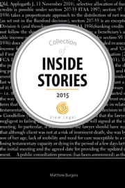 Collection of Inside Stories 2015 ebook by Matthew Burgess