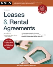 Leases & Rental Agreements ebook by Marcia Stewart,Ralph Warner,Janet Portman