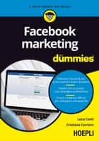 Facebook marketing for dummies ebook by Luca Conti, Cristiano Carriero