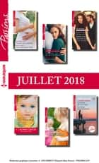 12 romans Passions + 1 gratuit (n°731 à 736 - Juillet 2018) ebook by