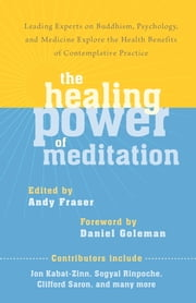 The Healing Power of Meditation - Leading Experts on Buddhism, Psychology, and Medicine Explore the Health Benefit s of Contemplative Practice ebook by Andy Fraser,Daniel Goleman,Jon Kabat-Zinn,Sogyal Rinpoche,Clifford Saron