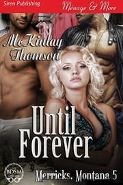 Until Forever ebook by McKinlay Thomson