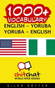1000+ Vocabulary English - Yoruba ebook by Gilad Soffer