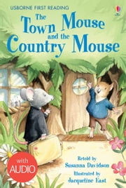 The Town Mouse and the Country Mouse: Usborne First Reading: Level Four ebook by Susanna Davidson, Jacqueline East