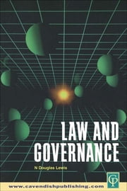 Law and Governance ebook by N. Douglas Lewis