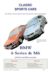 BMW 6 Series & M6 Buyers' Guide ebook by Jameson, Arthur