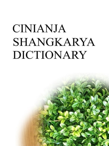 CINIANJA SHANGKARYA DICTIONARY ebook by Remem Maat