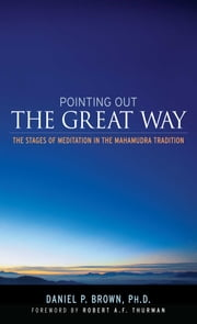 Pointing Out the Great Way - The Stages of Meditation in the Mahamudra Tradition ebook by Daniel P. Brown,Robert Thurman