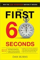 First 60 Seconds ebook by Daniel Burns
