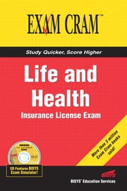 Life and Health Insurance License Exam Cram ebook by Educational Services, Bisys