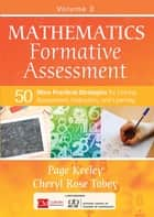 Mathematics Formative Assessment, Volume 2 ebook by Page D. Keeley,Cheryl Rose Tobey