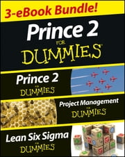 PRINCE 2 For Dummies Three e-book Bundle: Prince 2 For Dummies, Project Management For Dummies & Lean Six Sigma For Dummies ebook by Nick Graham,John  Morgan,Martin Brenig-Jones