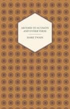 Artemis to Actaeon and Other Verse ebook by Edith Wharton