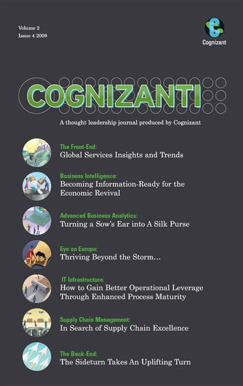 Cognizanti Journal - Issue 4 - Business and technology thought leadership from Cognizant ebook by Alan Alper,Bruce Rogow,Gabriel Schild,Ryan Marquiss,Sudeep Nair,Karthik Krishnamurthy,Parth Sarathi Mukherjee,Alberto Roldan