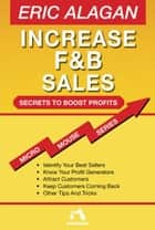 Increase F&B Sales ebook by Eric Alagan