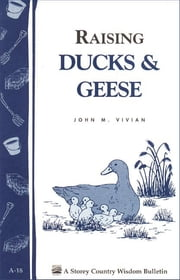 Raising Ducks & Geese - Storey's Country Wisdom Bulletin A-18 ebook by John Vivian