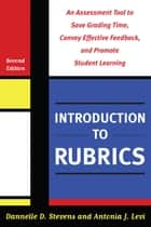 Introduction to Rubrics ebook by Barbara E. Walvoord,Dannelle D. Stevens,Antonia J. Levi