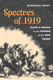 Spectres of 1919 - Class and Nation in the Making of the New Negro ebook by Barbara Foley