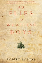 As Flies to Whatless Boys ebook by Robert Antoni