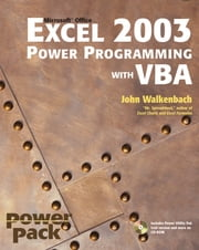 Excel 2003 Power Programming with VBA ebook by John Walkenbach