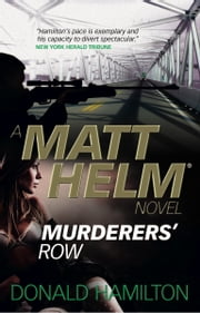 Matt Helm - Murderers' Row ebook by Donald Hamilton