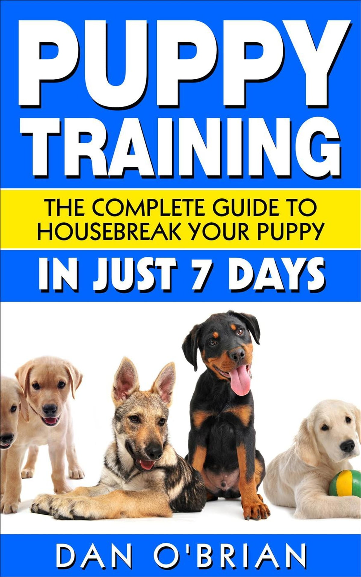 Puppy Training The Complete Guide To Housebreak Your Puppy In Just 7 Days Ebook By Dan O Brian 9781386180012 Rakuten Kobo Greece