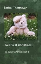 Bo's First Christmas - Bo Bunny Stories Book 1 ebook by Bärbel Thetmeyer