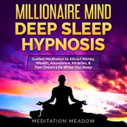 Millionaire Mind Deep Sleep Hypnosis - Guided Meditation to Attract Money, Wealth, Abundance, Miracles, & Your Dream Life While You Sleep audiobook by Meditation Meadow