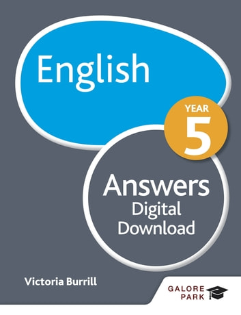 English Year 5 Answers ebook by Victoria Burrill