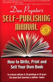 The Self-Publishing Manual, Volume 1 ebook by Dan Poynter