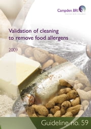 Validation of cleaning to remove food allergens ebook by Dr Helen Arrowsmith