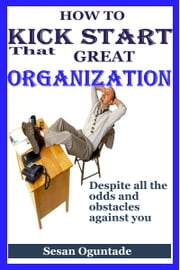 How to Kick Start That Great Organisation Despite All the Odds and Obstacles Against You ebook by Sesan Oguntade