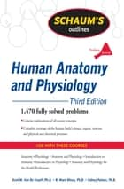 Schaum's Outline of Human Anatomy and Physiology, Third Edition ebook by Kent Van de Graaff,R. Rhees,Sidney Palmer