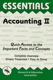 Accounting II Essentials ebook by Duane Milano