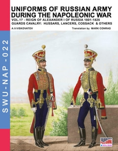 Uniforms of Russian army during the Napoleonic war Vol. 17