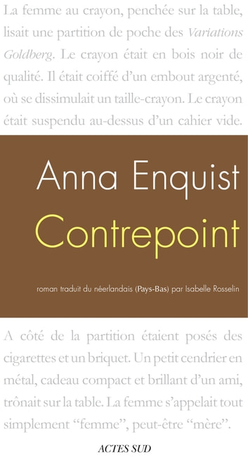 Contrepoint ebook by Anna Enquist