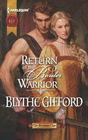 Return of the Border Warrior ebook by Blythe Gifford