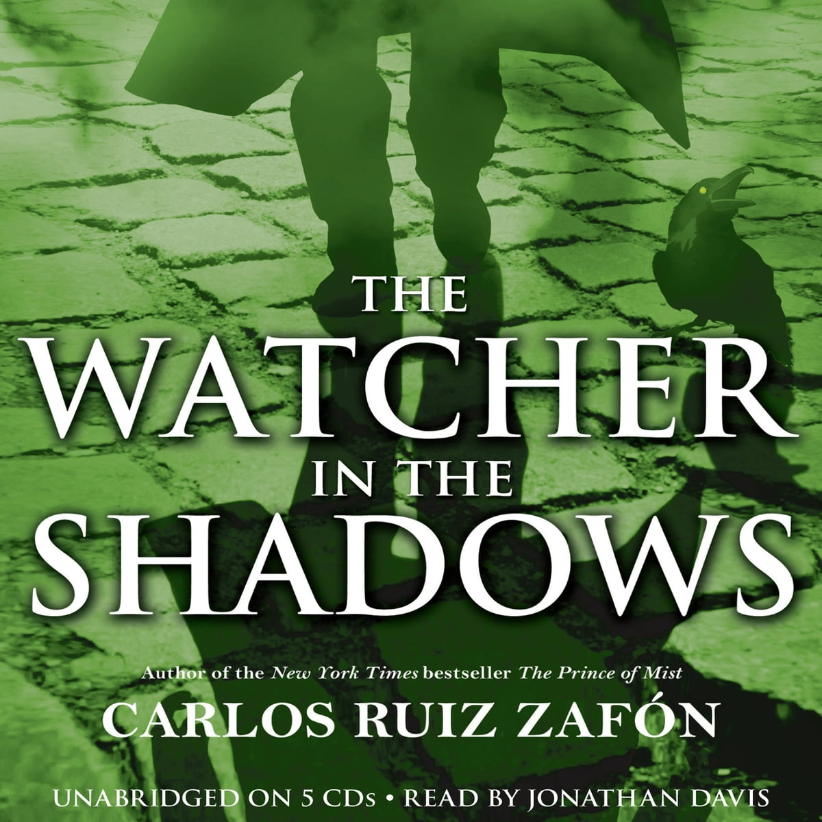 The Watcher in the Shadows Audiobook by Carlos Ruiz Zafon ...