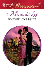 Bought: One Bride ebook by Miranda Lee