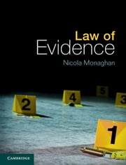 Law of Evidence ebook by Nicola Monaghan
