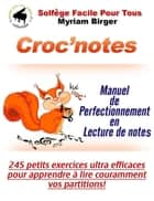 Croc'notes ebook by Myriam Birger