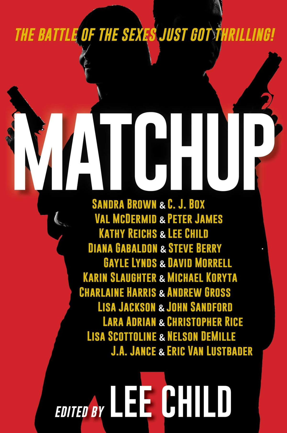 Matchup Ebook By Lee Child, Sandra Brown, C J Box,